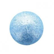 1 Boule Disco Bleu Turquoise  (2,8 cm) - Chocolat Blanc