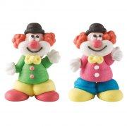 2 Clowns 3D (4 cm) - Sucre