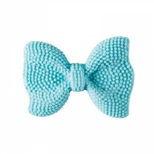 1 Nœud Papillon en sucre - Bleu