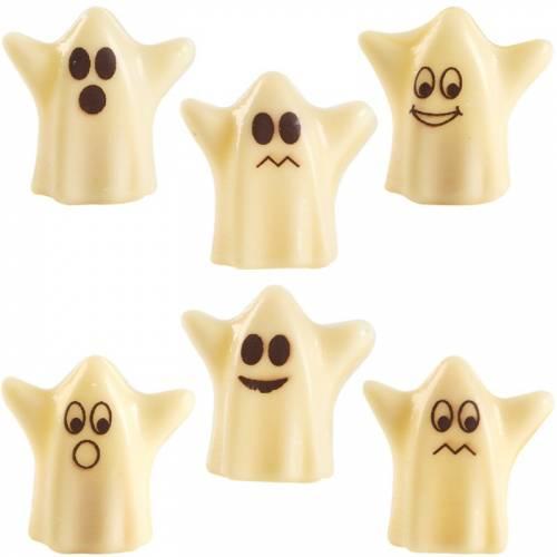6 Fantôme 3D - Chocolat blanc