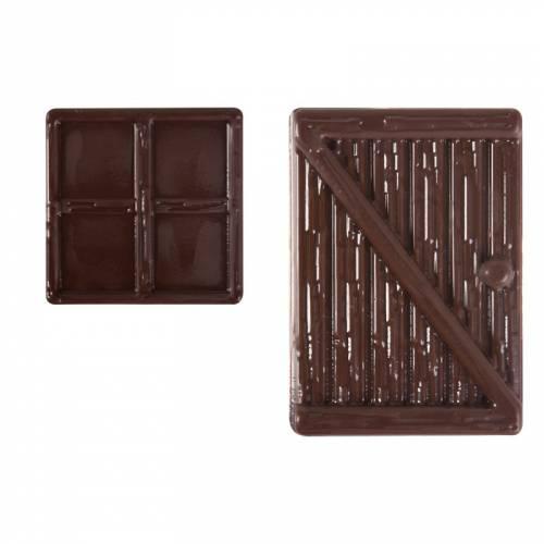 1 Porte + 1 Fenêtre - Chocolat Noir