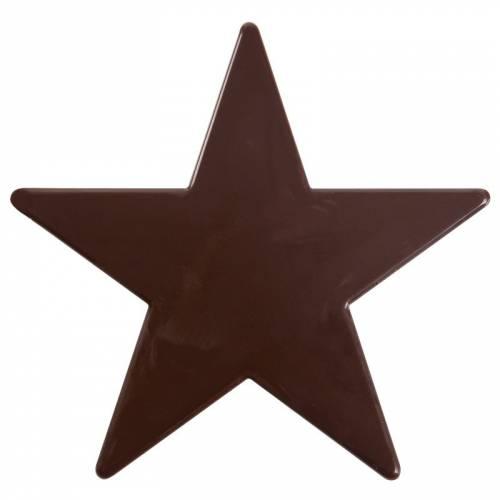 1 Etoile (9 cm) - Chocolat Noir