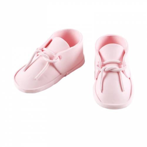 Paire de Chaussures de Naissance Fille - 9 cm