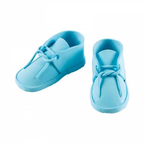 Paire de Chaussures de Naissance Garçon - 9 cm