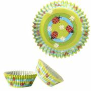 50 Caissettes à Cupcakes - Coccinelle