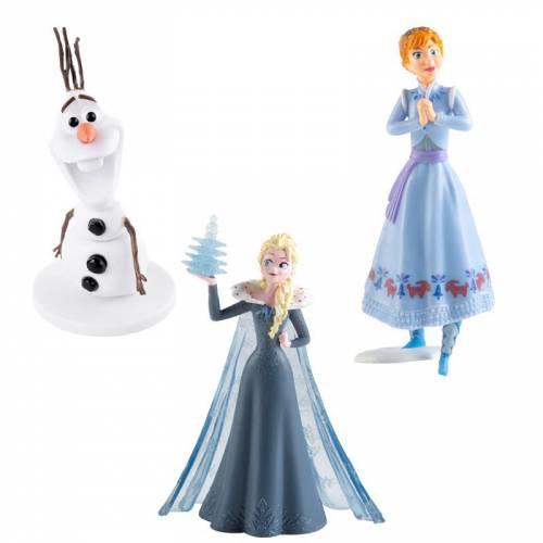 Set Figurines Reine des Neiges, Elsa, Anna, Olaf