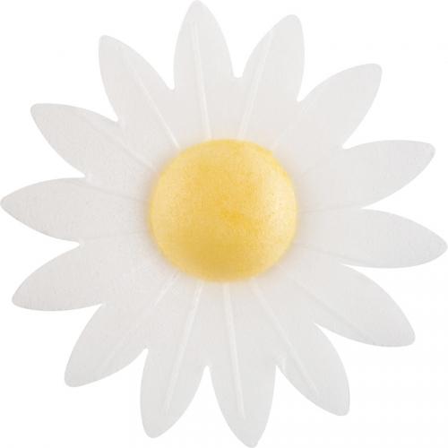 2 Fleurs Blanc Daisy 6cm - Azyme