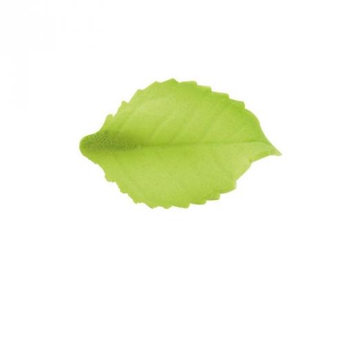 5 Feuilles de Rose 2 cm - Sucre