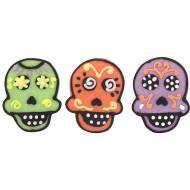 3 Têtes de Morts 3 cm - Sucre