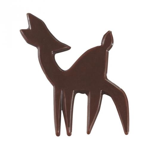 4 Minis Cerfs - Chocolat Noir
