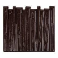 2 Embouts de Bûche Tronc d'Arbre  - Chocolat Noir