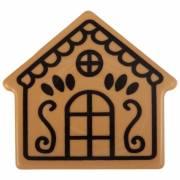 2 Embouts de Bûche Maison  (8 cm) - Caramel