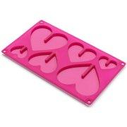 Moule Chocolat Coeurs en 3D