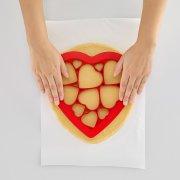 Emporte-pièce Puzzle 12 Biscuits Coeurs