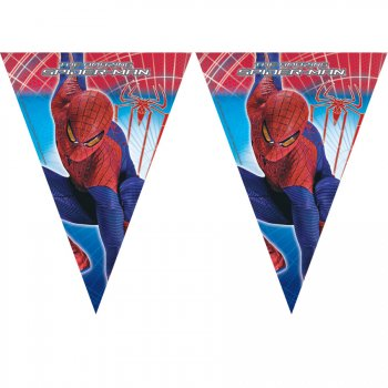 Guirlande Fanions Amazing Spiderman