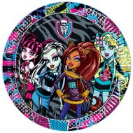 8 Assiettes Monster High Friends