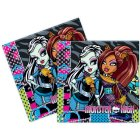 20 Serviettes Monster High Friends