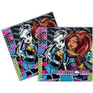 20 Serviettes Monster High Friends