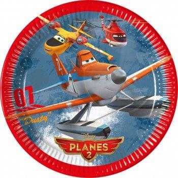 8 Assiettes Planes 2