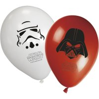 Contient : 1 x 8 Ballons Star Wars