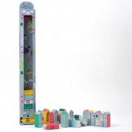 Calendrier de l'Avent Ludique Petit Village (63 cm)