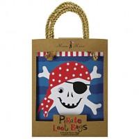 Contient : 1 x 8 Sacs cadeaux Pirate Smile