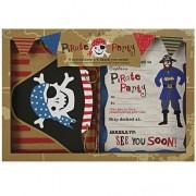 Kit Invitations et Remerciements Pirate Smile