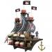 Contient : 1 x Pr�sentoir G�ant Bateau Pirate Smile. n�11