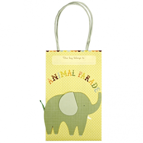 8 Sacs cadeaux Animal Parade