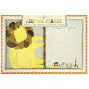 Kit Invitations et remerciements Animal Parade