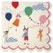 20 Petites Serviettes F�te Foraine Enfants images:#0