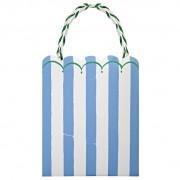 8 Sacs Cadeaux Kermess Bleu