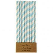 24 Pailles Kermess Bleu
