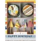 Kit 24 Caissettes et D�co � Cupcakes Funny Birthday