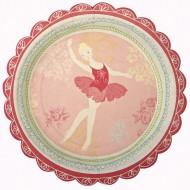 12 Assiettes Sweet Ballerine