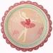 Contient : 1 x 12 Assiettes Sweet Ballerine. n°4