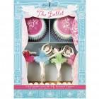 Kit 24 Caissettes et Déco à Cupcakes Sweet Ballerine