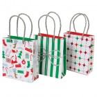 Lot de 3 Sacs cadeaux Jolly Père Noël