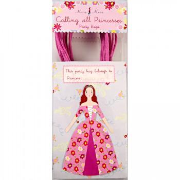 8 Sacs cadeaux Princesse Party