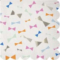 Contient : 1 x 16 Serviettes Noeud Papillon