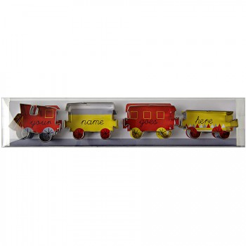 Set emporte-pièces Train (4 locomotives)