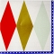 16 Petites Serviettes Arlequin images:#0