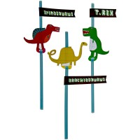 Contient : 1 x 24 Pailles Dino Friend