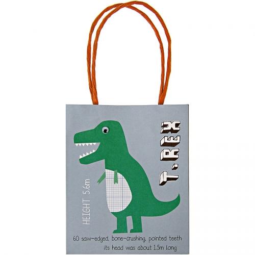 8 sacs cadeaux Dino Friend