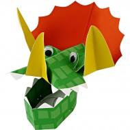 8 Chapeaux masques Dinosaures