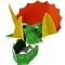 8 Chapeaux masques Dinosaures images:#0