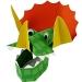 8 Chapeaux masques Dinosaures. n°1