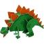 Centre de Table Dino Friend Maxi 3D