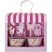 Kit 24 Caissettes et D�co � Cupcakes B�b� Rose. n�2