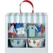 Kit 24 Caissettes et Déco à Cupcakes Bébé Bleu. n°2